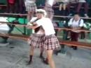 Jajaja VERÓNICA Vrs KATHERINE pleito del CTP BARRIO IRVIN - YouTube