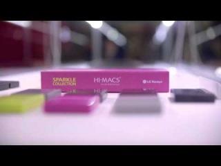 LG HAUSYS HI-MACS® - 'Sparkle Krib' designed by Karim Rashid