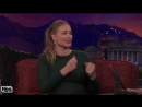 Yvonne Strahovski's Bear Safety Lesson - CONAN on TBS