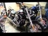 218. США. Harley Davidson. Магазин мотоциклов изнутри.