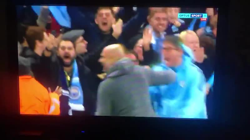 Guardiola reaction after Sterling disallowed goal