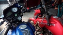 TVS Apache Bike Showroom in Alomdanga