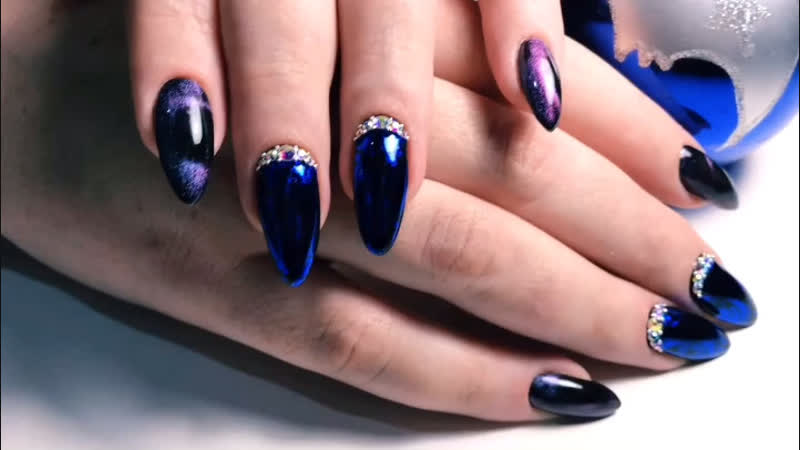@kesia nail Красивая кошечка на ногтях