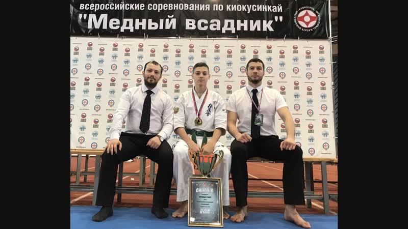 Финал Всероссийского турнира Медный всадник (Чичинадзе Тимур)