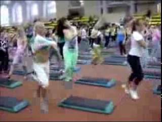 Step by Katya Vasilenko & Carlos Ramirez Fitness Summit 12-13 Oct 2013 SPb Russia