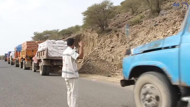 'الهلال الأحمر' يسير قافلة مساعدات لمديرية الأزارق