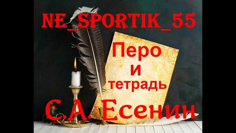 Перо и тетрадь выпуск №1 С.А. Есенин
