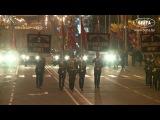 Репетиция роты почетного караула к Дню Победы прошла в Минске