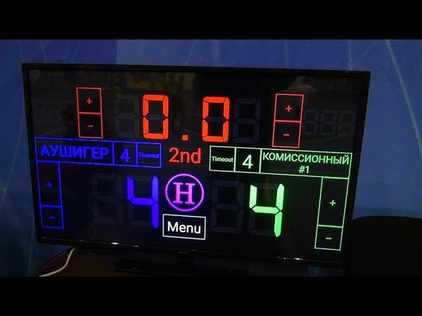Чемпионат КБР по мини-футболу 201819. ПД. 1 тур. Аушигер - Комиссионный 1. 2 тайм.