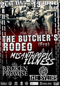 13.06 - The Butcher's Rodeo (Fra) + support!