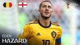 Eden Hazard Goal Belgium v England MATCH 63