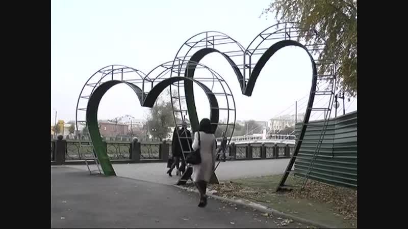 У Харкові триває реконструкція скверу Стрілка