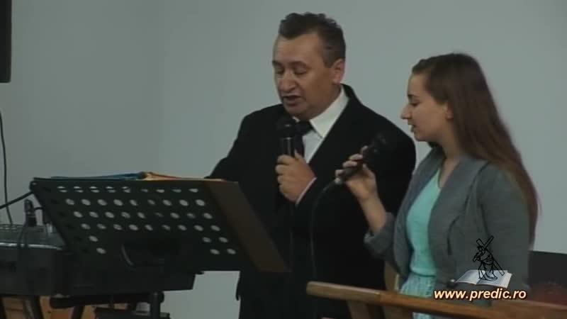 Cristian şi Cristiana Văduva - Israel, Domnul bate azi la uşa ta - www.predic.ro - YouTube (720p)