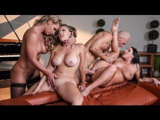Angela white, kagney linn karter, phoenix marie (dinner for cheats) sex porno