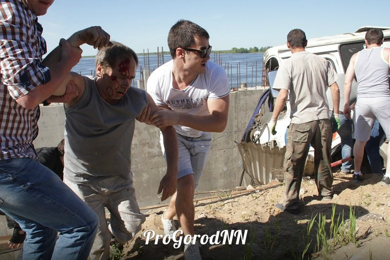 Появились новые фото с места ДТП в Нижнем Новгороде,где ...: http://progorodnn.ru/news/view/70566