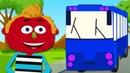 Las Ruedas del Autobús a Colores Versión de Mini y Len Pueblo Teehee