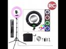 Многоцветная кольцевая лампа OKIRA FC 480 RGB
