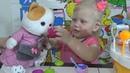 Детское видео Мороженое за странные 100 капинаков Тележка сладкоежка