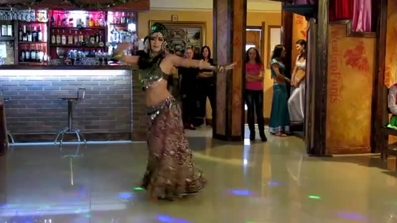 Kira Lebedeva - Habibi Lal@ Cherkassy Oriental Party 13_12_2015