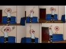 Волейбол.Обучающие видео.Нападающий удар. Удар на силу.Часть 2.