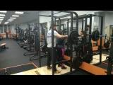 Сабина присед на груди 120 кг!