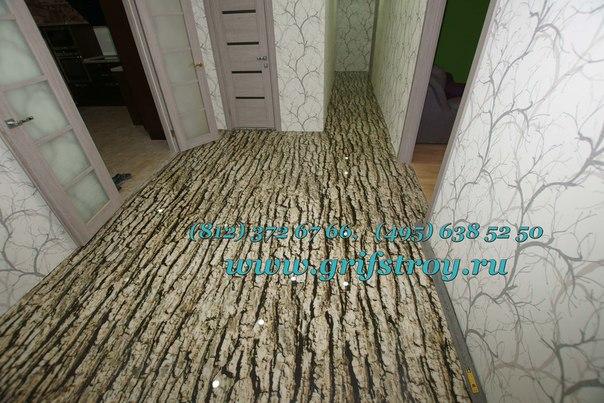 наливные декоративные полы цена материала