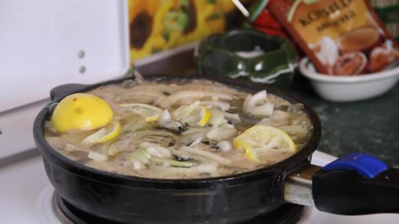 Шкара из мойвы - любимое блюдо моряков