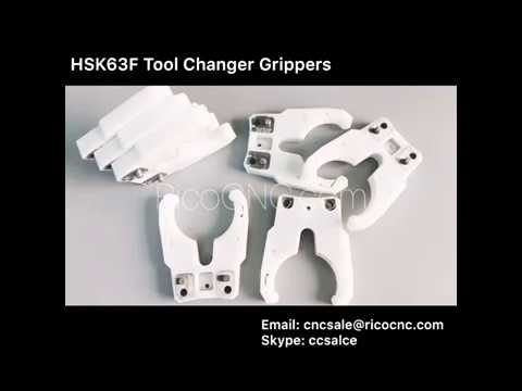 HSK63F tool holder clips cnc tool changer plastic fingers