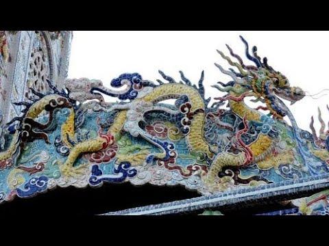 225 Вьетнам Храм ЛИНЬ ФУОК храм ИЗ БИТОЙ ПОСУДЫ ШЕДЕВР Vietnam Linh Phuoc Pagoda MASTERPIECE