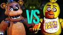 ФРЕДДИ VS ЧИКА СУПЕР РЭП БИТВА Freddy Fazbear Five Nights At Freddys ПРОТИВ Chica Аниматроник