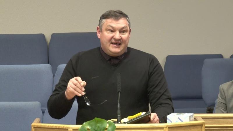 Павел Чебан Проповедь