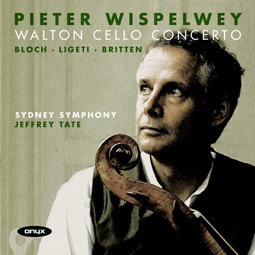 Pieter Wispelwey альбом Walton Cello Concerto (Bloch, Ligeti, Britten)