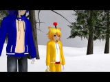 [MMDMEME] - Sonic.exe&Tails Doll - Slide on the soap.