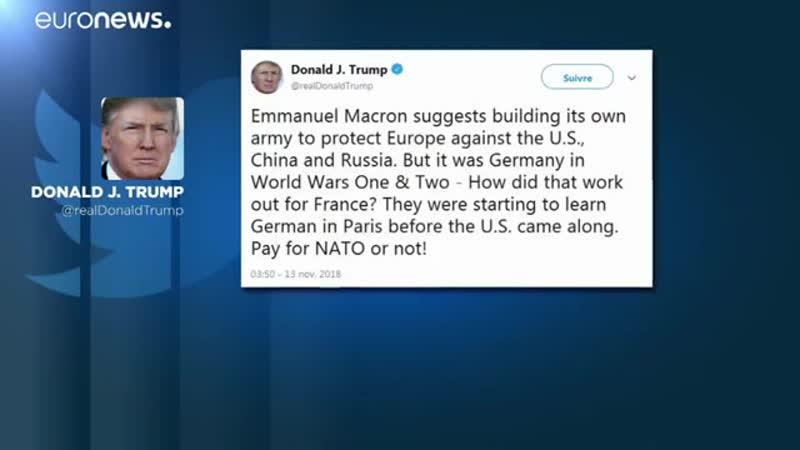 Trump greift Frankreichs Macron an - auf Twitter