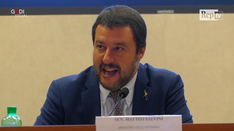 Dl Sicurezza, Salvini: Finita pacchia su accoglienza. Bel giorno. Ma sbaglia la data