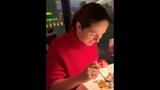 Нюша с мужем в ресторане на День Святого Валентина (14.02.19)