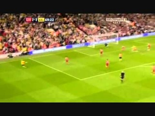 Arshavin 4 Goals Vs Liverpool