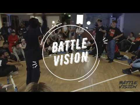 FRANKY DEE UKAY vs BREEZE B-SMART - BATTLEVISION 2018 HIP HOP FINAL | Danceproject.info