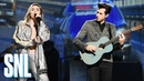Mark Ronson and Miley Cyrus Nothing Breaks Like a Heart Live - SNL