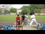 Выступление вьетнамской полиции на фестивале боевых искусств!