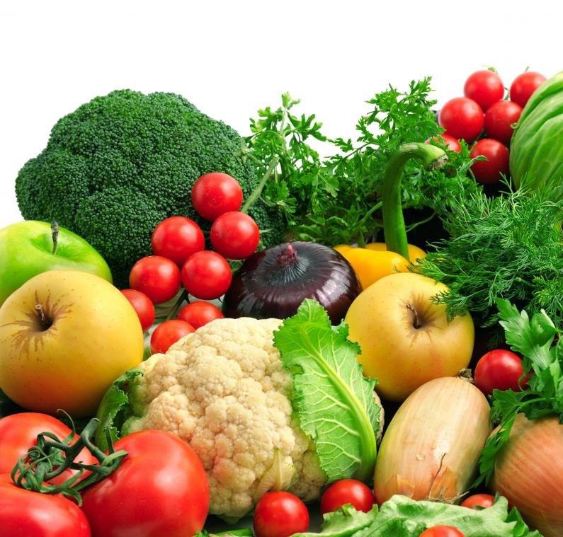 Фрукты и овощи полны микронутриентов.
