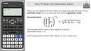 How To Work Out Geometric Mean Casio Classwiz fx 991EX