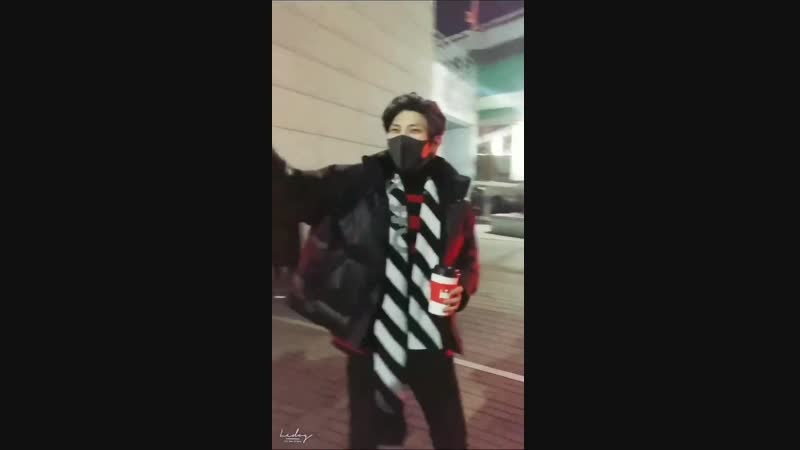 [Fancam] 181212 VIXX Leo after Musical 'Elisabeth'