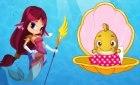 Игра русалочка уход за рыбками
