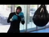 Фрагменты тренировок Сауля Альвареса перед боем с Головкиным 5 мая | FightSpace