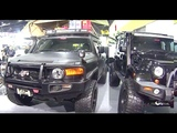 Not boring SUV Toyota FJ Cruiser, custom, lift, painted, shod and ready for offroad