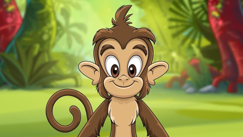 Monkey Dance | HIT song for kids by Kidz Area