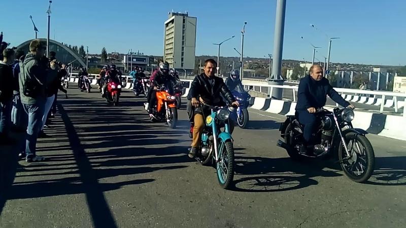 Закрытие мотосезона! Луганск 2018) Лнр