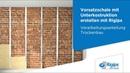 Grundlagen für Rigips Vorsatzschalen mit Unterkonstruktion Verarbeitungsanleitung Trockenbau
