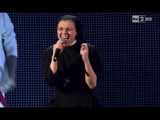 Сестра Кристина Скуччиа - No one | Финал | Голос Италии 2014